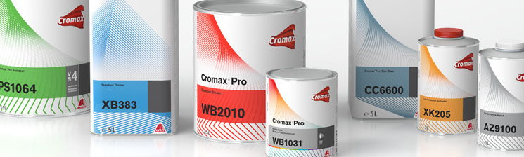 Cromax Pro Auto Paint Coatings Perth