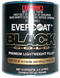 Evercoat Black Gold Automotive Refinishing Body Filler